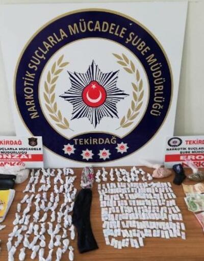 Tekirdağ'da uyuşturucu operasyon: 3 gözaltı