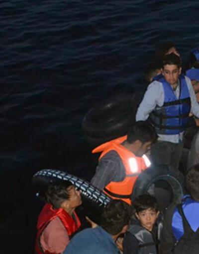 Ayvalık'ta 40 kaçak göçmen yakalandı