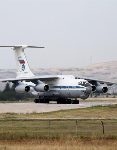 Son dakika... S-400 teslimatında 15. uçak Mürted'e indi