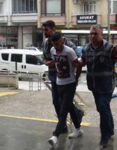Polis, hırsızlık şüphelisini güvenlik kamerası kayıtlarından yakaladı