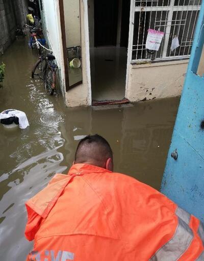 Ceyhan'da şiddetli yağış olumsuz etkiledi