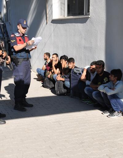 Çanakkale'de 9 düzensiz göçmen yakalandı
