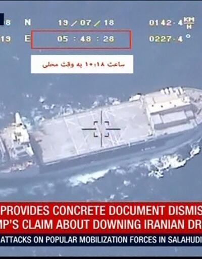 İran, düşürüldüğü iddia edilen İHA tarafından çekilen görüntüleri yayınladı
