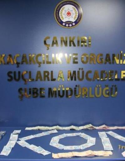 Çankırı'da 'sahte para' operasyonu: 3 gözaltı