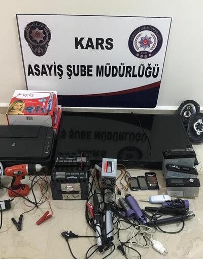 Kars'ta hırsızlık çetesi çökertildi