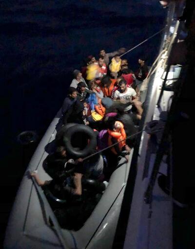 Didim açıklarında 39 kaçak göçmen yakalandı