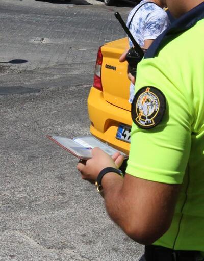 Binlerce taksi şoförüne para cezası!