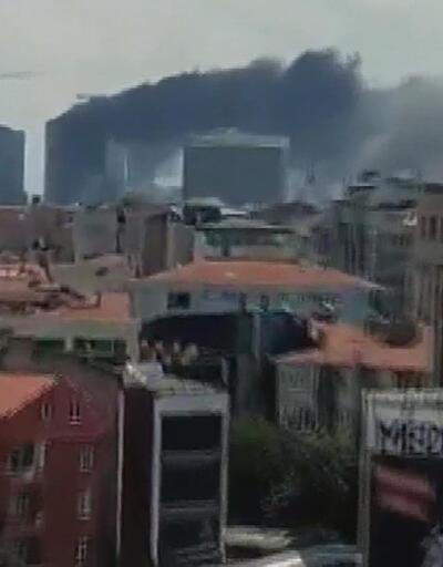 Ümraniye'de 29 katlı binada yangın söndürüldü