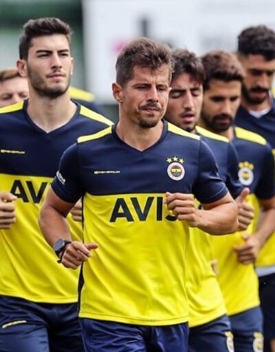 Fenerbahçe idmanında Eljif Elmas detayı