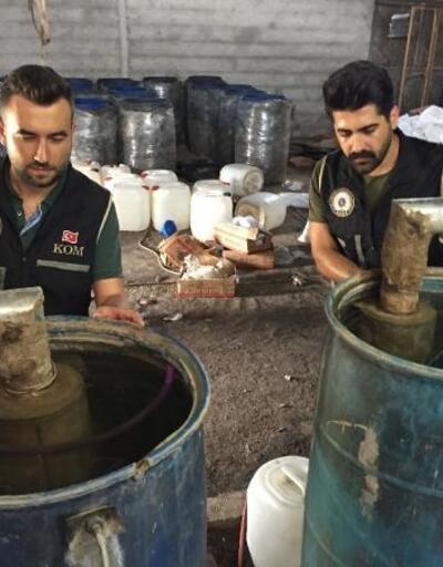 Adana'da 22 bin sahte içki ele geçirildi; 54 gözaltı