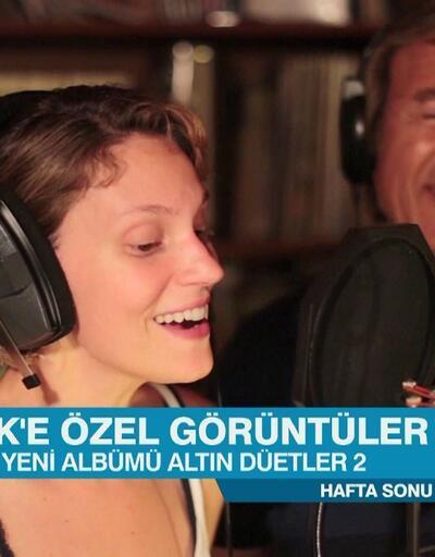 """Erol Evgin'in """"Altın Düetler 2"""" albümünden çok özel görüntüler"""