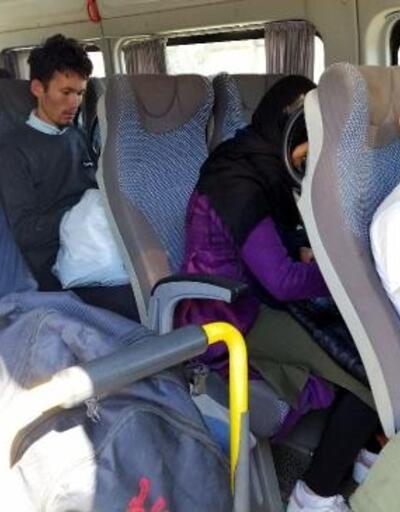 Çanakkale'de 11 kaçak göçmen yakalandı