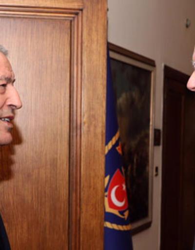 Bakan Akar, ABD'nin Suriye Özel Temsilcisi'yle görüştü