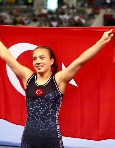 Emine Çakmak'tan EYOF'ta altın madalya