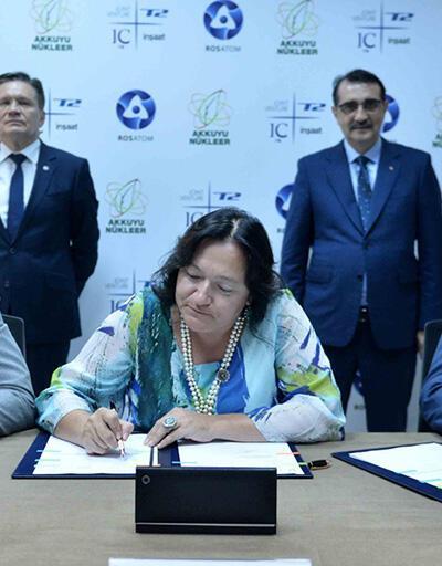Akkuyu Nükleer AŞ ile Türk-Rus ortak girişimi arasında sözleşme