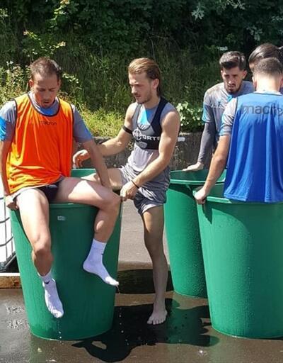Trabzonspor idmanında dikkat çeken olay