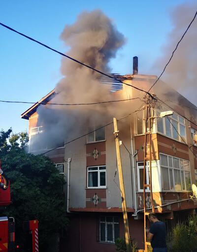 Aynı binada 3 saatte iki yangın