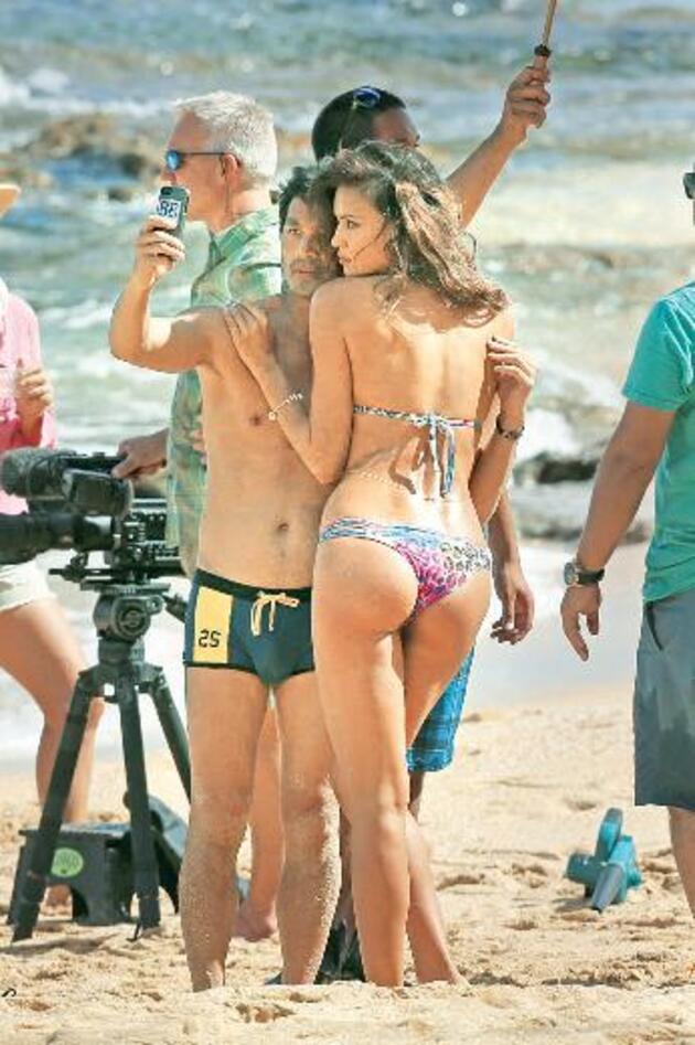 Moda çekimlerinin kamera arkası