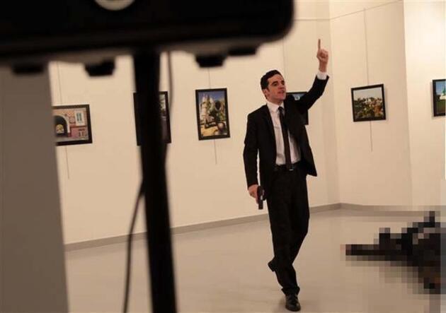 İşte Rus Büyükelçisi'ni vuran suikastçı