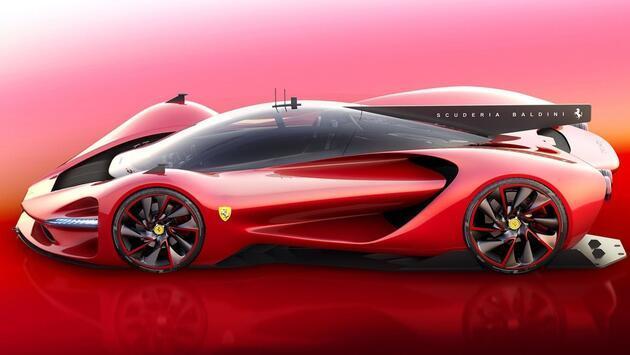 Ferrari P3 konsept otomobili büyüledi
