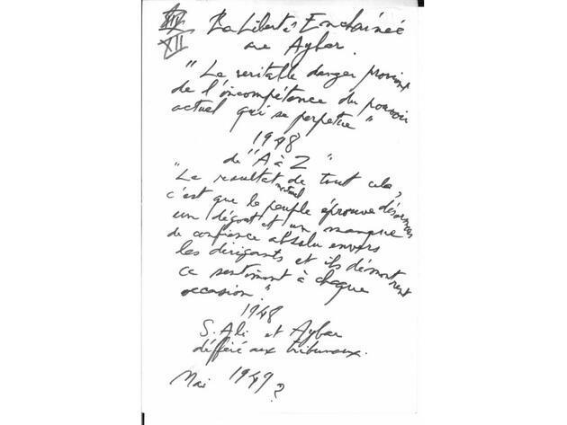 Kürk Mantolu Madonna'nın elyazısı taslaklarıyla A'dan Z'ye Sabahattin Ali