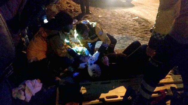 Dökülen asit 3 kişiyi yaraladı