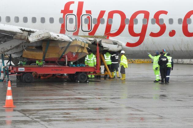 Trabzon'da pistten çıkan uçak yeniden uçacak mı?