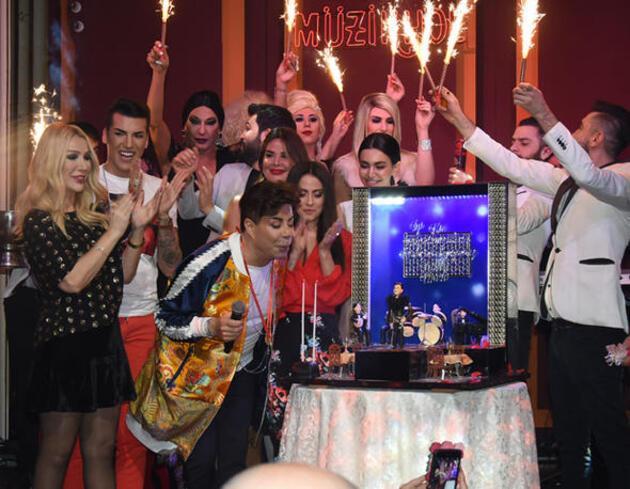 Fatih Ürek'in doğum gününe ünlüler akın etti
