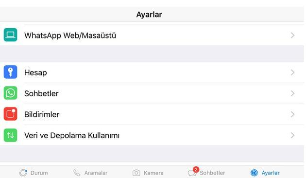 whatsapp mesaj on izleme