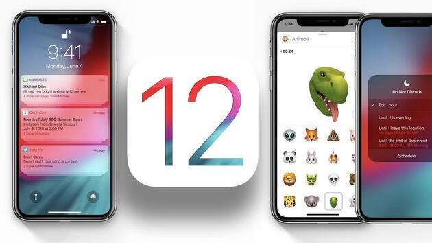 iOS 12 yayımlandı işte yeni özellikler ve uyumlu modeller