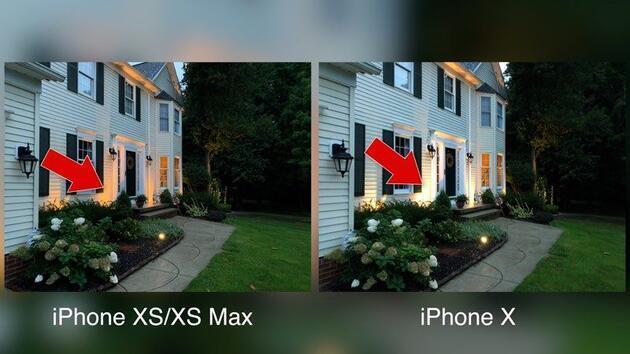 iPhone Xs ve iPhone X kameraları karşılaştırıldı!