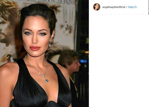 Angelina Jolie setlere dönüyor