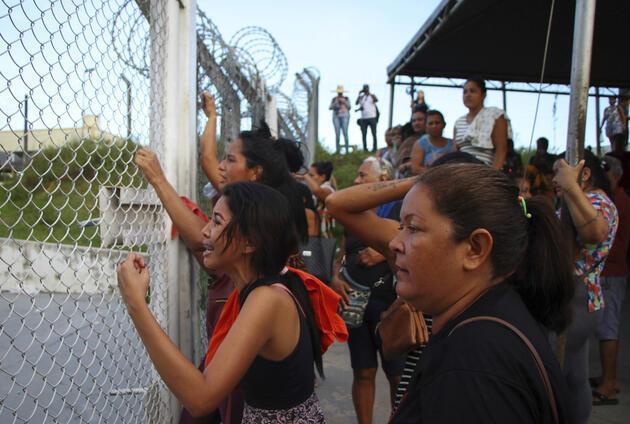 Brezilya'da cezaevlerinde çatışma