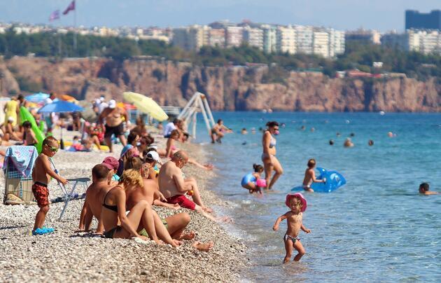 Antalya'da mayıs ayında Rus turist patlaması