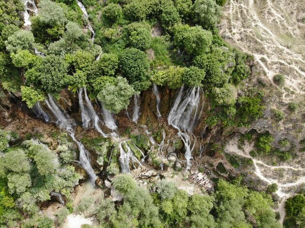 Tatilciler için saklı cennet: Girlevik Şelalesi