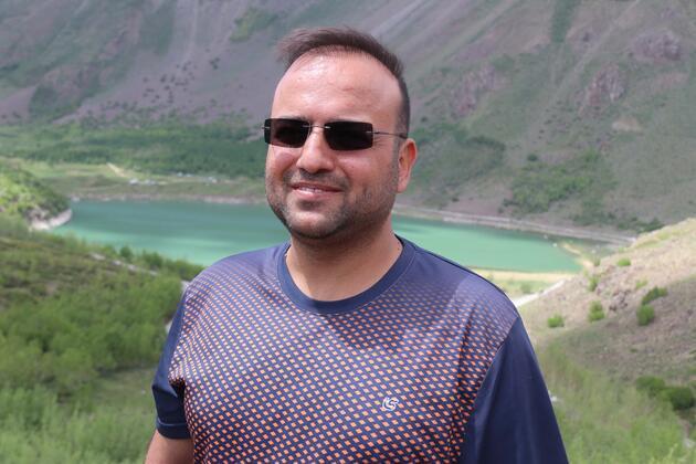 Nemrut Krater Gölü'ne bayramda ziyaretçi akını