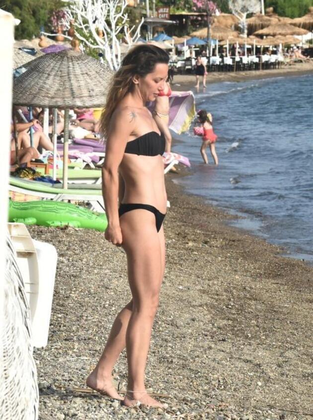 Yıldız halk plajında