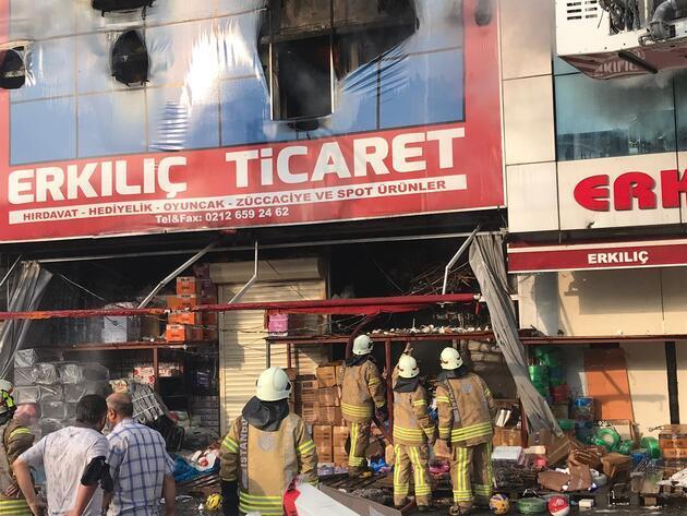 Son dakika... İstanbul'da korkutan yangın
