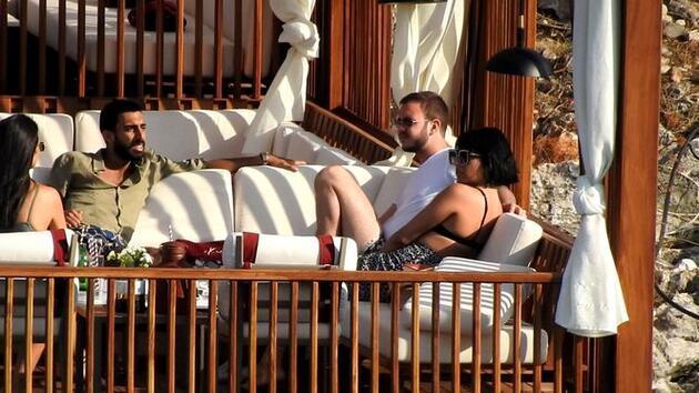 Zehra Çilingiroğlu sevgilisiyle tatilde