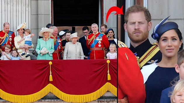 Dünyanın izlediği törende kraliyet çiftinin gergin anları