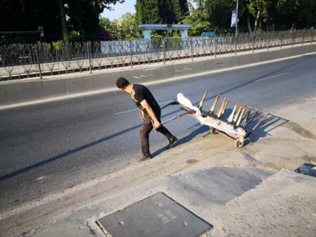 İstanbul'da milyonluk yağma! Bir zamanların deviydi, talan ettiler...