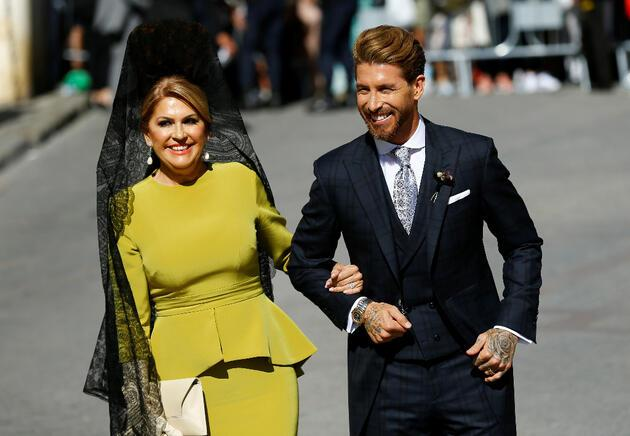 Sergio Ramos'un düğününde skandal olay