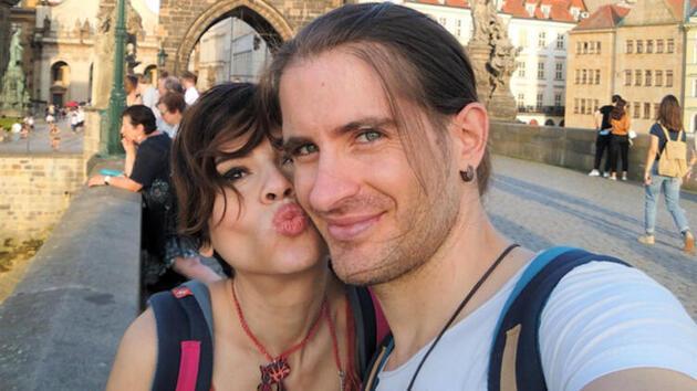Prag'da romantik kutlama