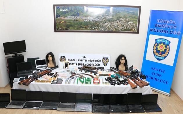 Gizli kameralı el bombalı fuhuş çetesine operasyon: 31 gözaltı