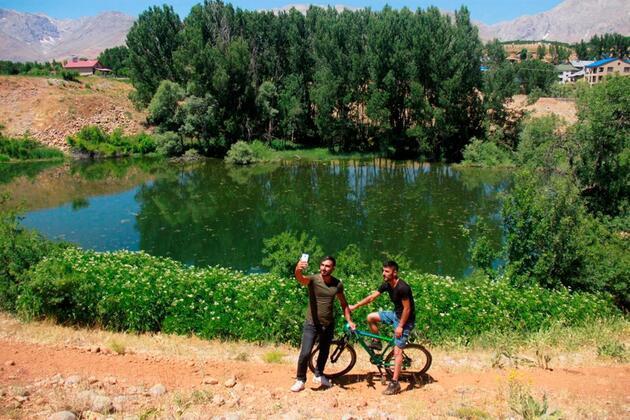 Tunceli'de göz kamaştıran 'Melekler Gölü' keşfedilmeyi bekliyor