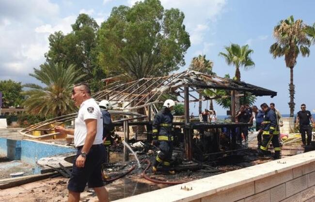 Metruk ahşap yapıda çıkan yangında öldü