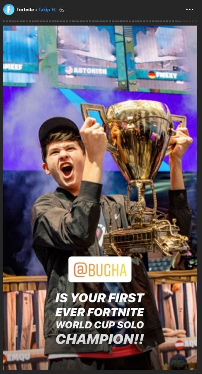 Fortnite Dünya Kupası'nda 16 yaşında 3 milyon dolar ödül kazandı!