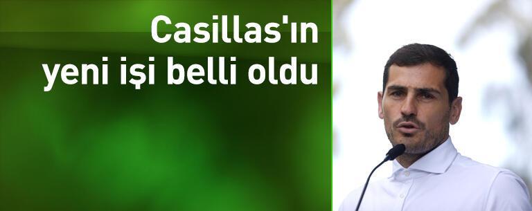 Casillas'ın yeni işi belli oldu