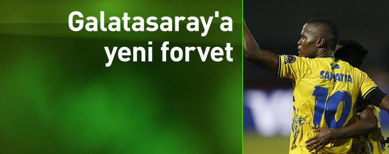 Galatasaray'a yeni forvet