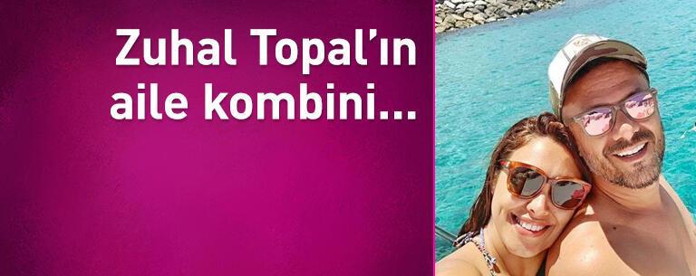 Zuhal Topal'ın aile kombini...